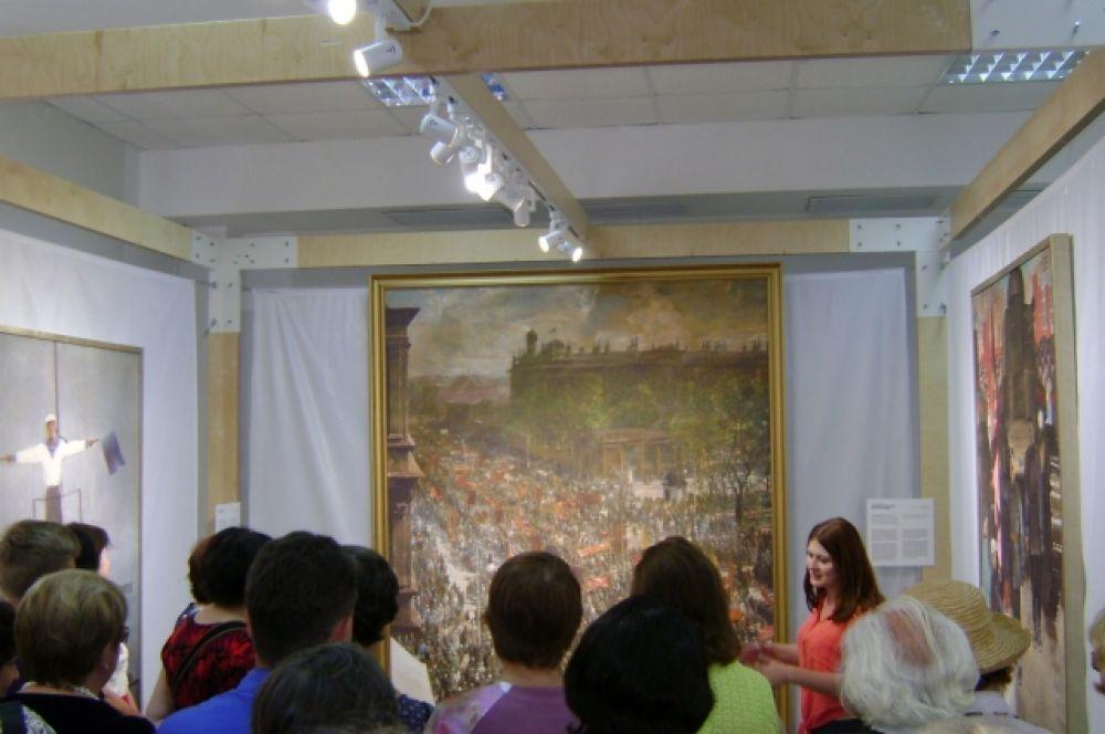 Ростовской области повезло больше всех: местом встречи с искусством, где будут показаны 27 высококачественных репродукций картин советских художников, названы сразу три донских города. В Сальске выставка уже состоялась. В Каменск-Шахтинск поедет в июле.