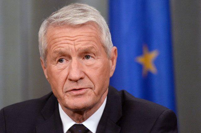 Генеральный секретарь Совета Европы Турбьёрн Ягланд.