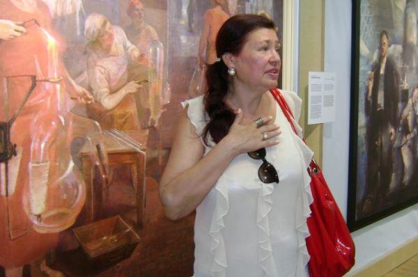 Мама знаменитой пловчихи Юлии Ефимовой Татьяна Григорьевна тоже переполнена эмоциями.