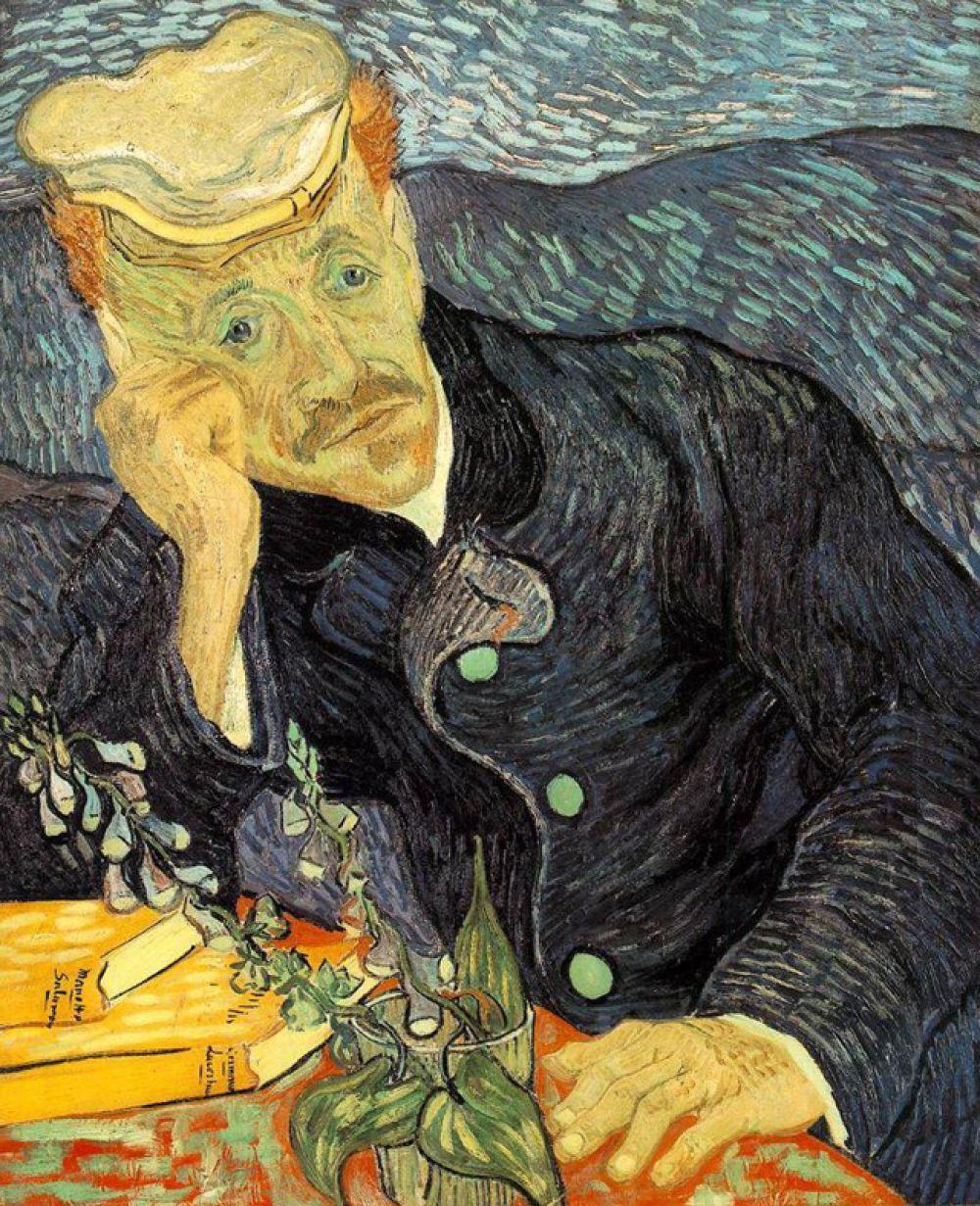 «Портрет доктора Гаше» Винсента ван Гога — 82,5 млн долларов.