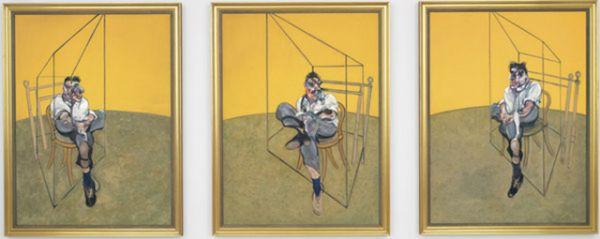 «Три наброска к портрету Люсьена Фрейда — триптих» Фрэнсиса Бэкона была продана в 2015 году за 142,4 млн долларов.