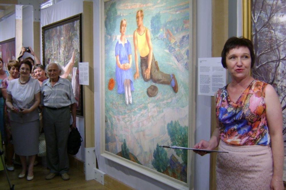 В Волгодонске открылась выставка высококачественных репродукций 27 картин известных советских художников 20-х – 40-х годов прошлого века.