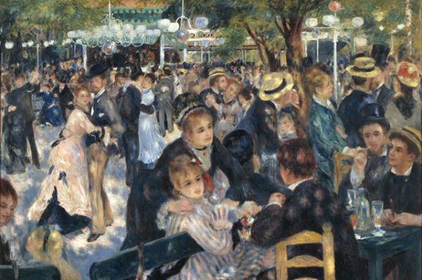 «Бал в Мулен де ла Галетт» (уменьшенная авторская копия), Пьер Огюст Ренуар — 78,1 млн долларов.
