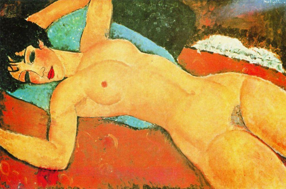 Картина Амедео Модильяни «Лежащая обнаженная» ушла с торгов за 170,4 млн долларов.