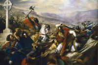 Карл Штейбен. Битва при Пуатье 732 года.