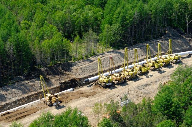 27 тысяч км газопровода было построено в России за 10 лет.