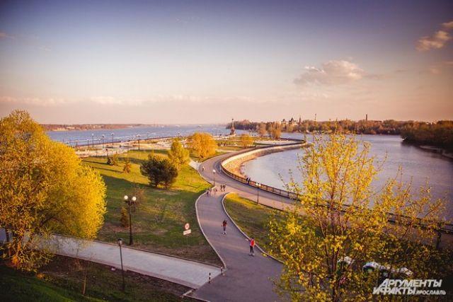 Основание Ярославля, произошедшее в районе Стрелки, - самый яркий эпизод в истории края.