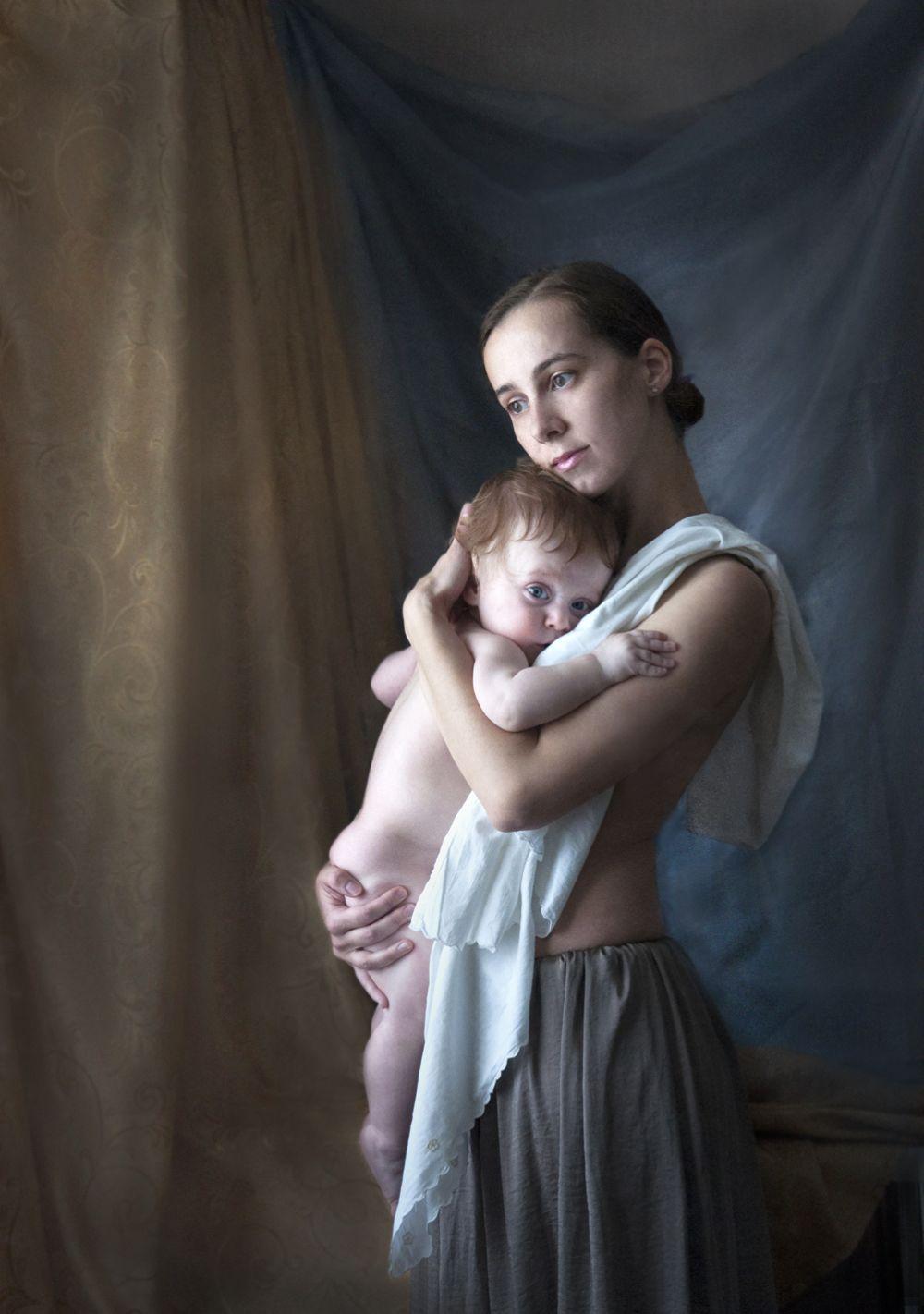«Портрет с младенцем»