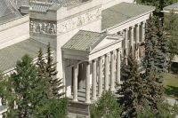 Музей изобразительных искусств имени А. С. Пушкина. В его создании принял участие меценат Ю. Нечаев-Мальцов.