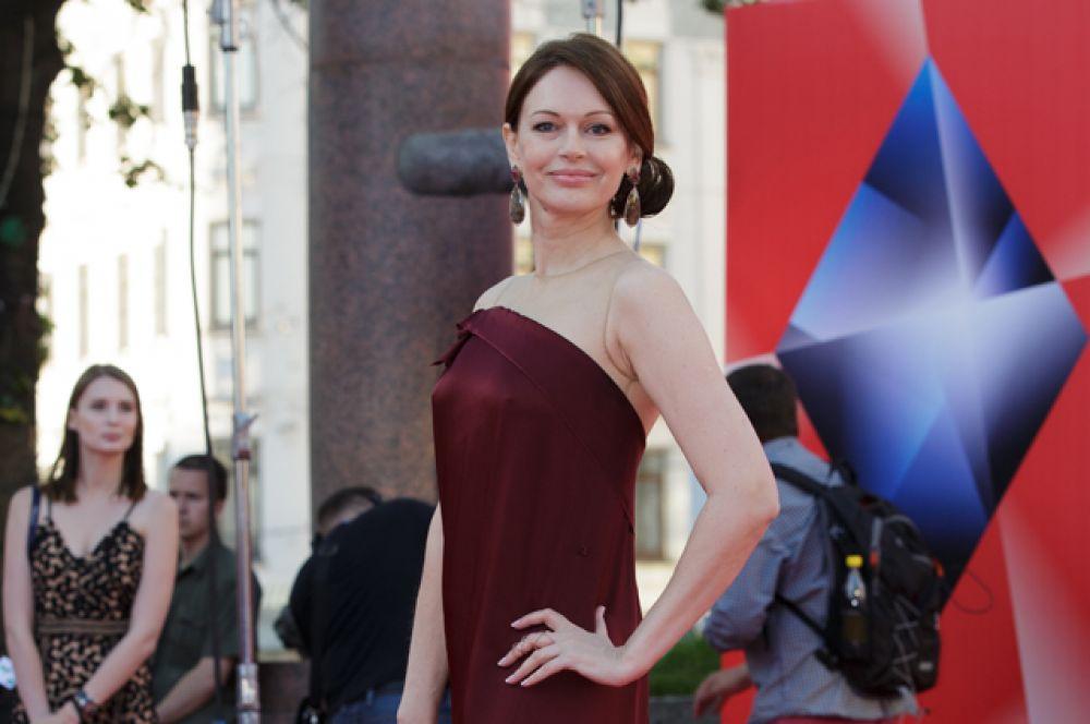Актриса Ирина Безрукова.