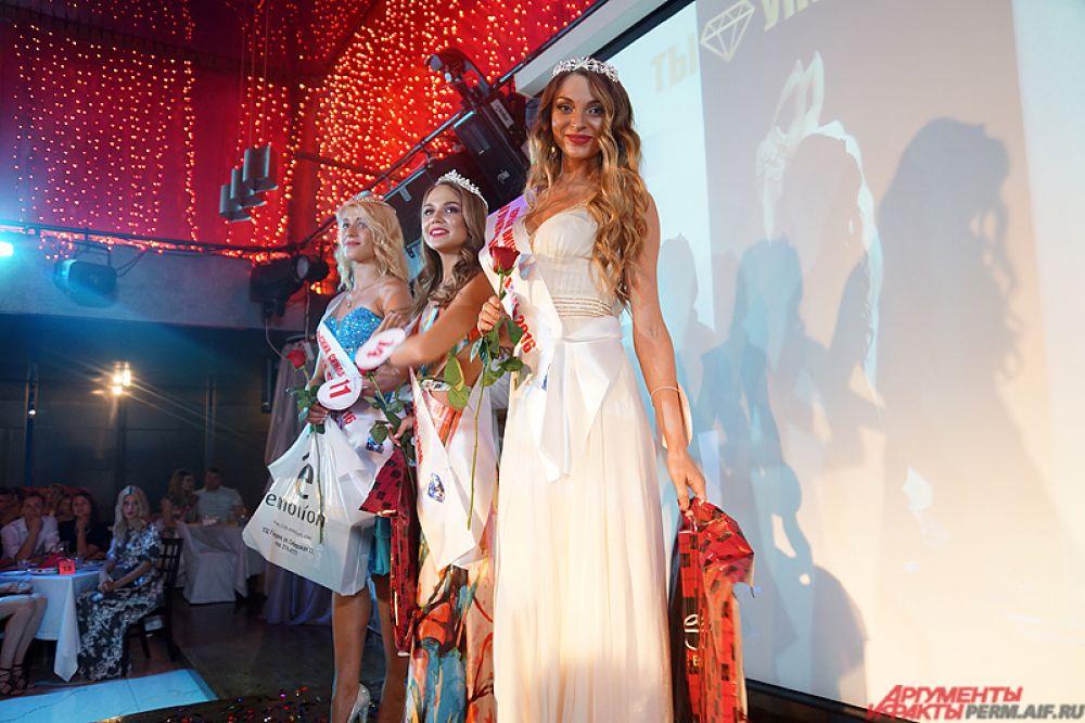 Первой вице-мисс стала Наталья Ежова.
