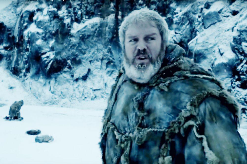 Ходор. Смерть Ходора — одна из самых печальных сцен шестого сезона. Несмотря на то, что герой Кристиана Нэрна — неразговорчивый и с виду грозный великан, зрители давно успели полюбить его за преданность своим хозяевам. Спасая Брана Старка от Белых Ходоков, Ходор погиб в пятой серии.