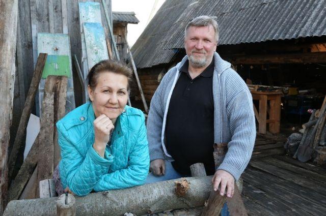 В поисках нового жилища Алексушины приехали в Серпиевку.