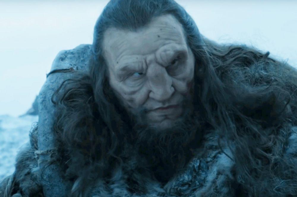 Вун Вун. Представитель расы гигантов великан Вун Вун в девятой серии сражался вместе с одичалыми за Джона Сноу и был убит армией Рамси Болтона.