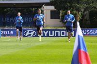 Игроки сборной России по футболу на Евро-2016.