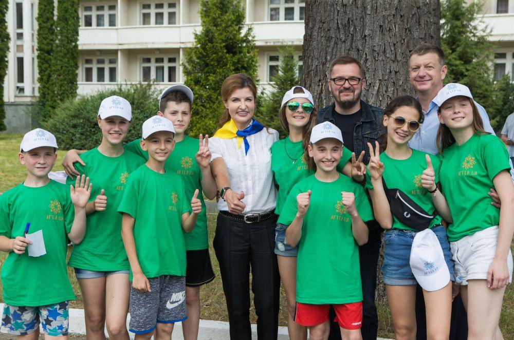 Памятное фото первой леди Украины с детьми