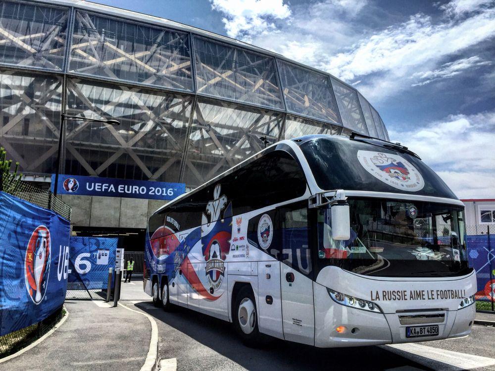 Автобус движения «Россия любит футбол!»