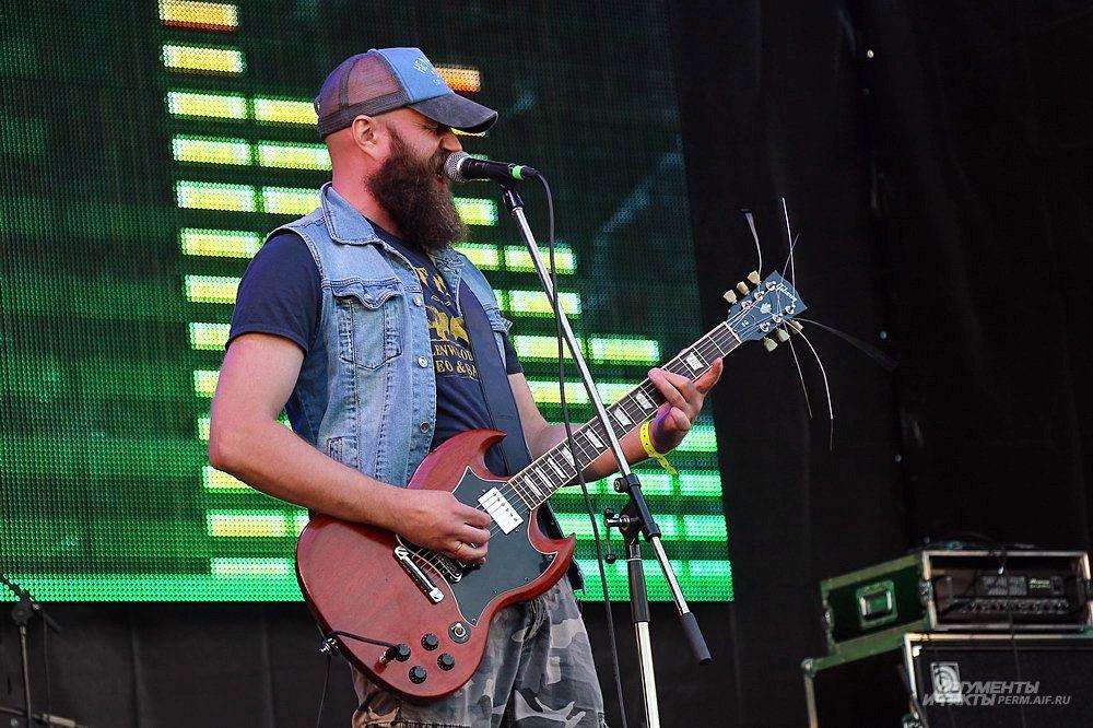 Лауреаты фестиваля Rock-Line 2013 – пермская группа Ultra.