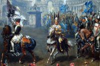 Победителей в рыцарской карусели определяли 12 судей, которые совещались в Летнем Дворце.
