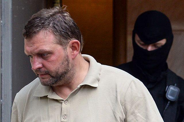 Губернатор Кировской области Никита Белых в Басманном суде Москвы.