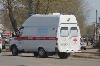 Водителю и пассажиру автобуса потребовалась помощь врачей.