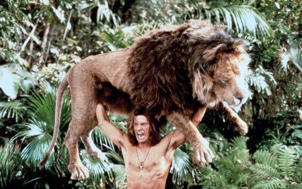 В 1997 году на экраны вышел фильм «Джордж из джунглей» - пародия на приключения Тарзана. Эта картина сделала звездой Брендана Фрейзера.