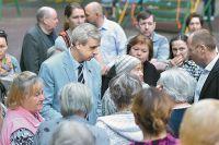 В. Лысаков идёт на выборы по округу, который хорошо знает, потому что живёт в нём с 1963 г.