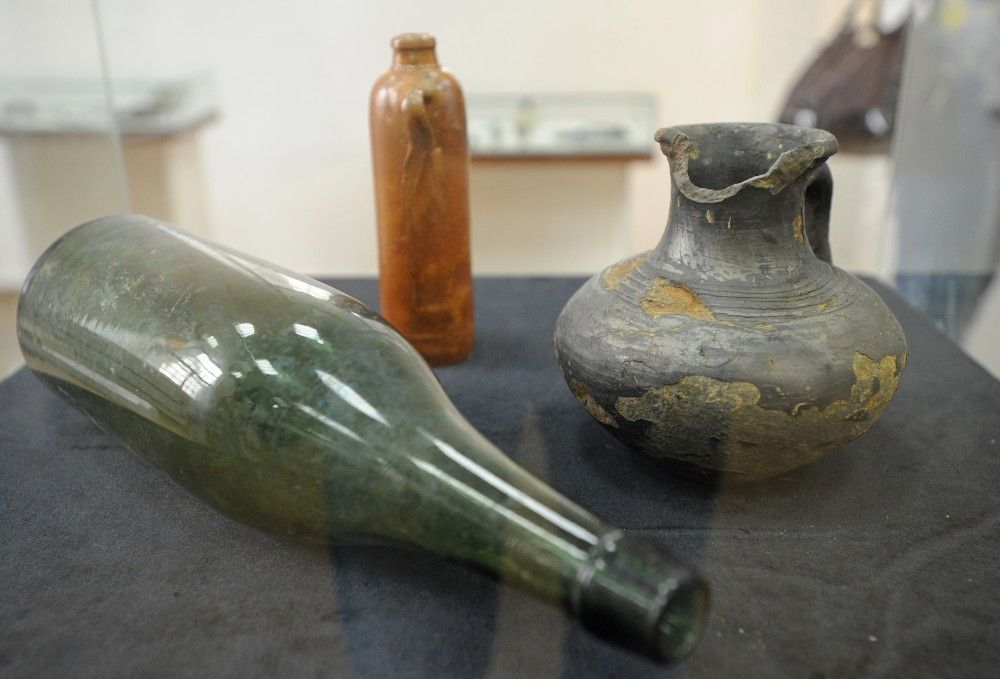 На выставке археологических находок, обнаруженных в ходе реализации программы «Моя улица».
