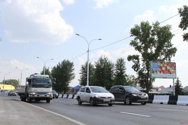 На реконструированном шоссе будет меньше пробок.