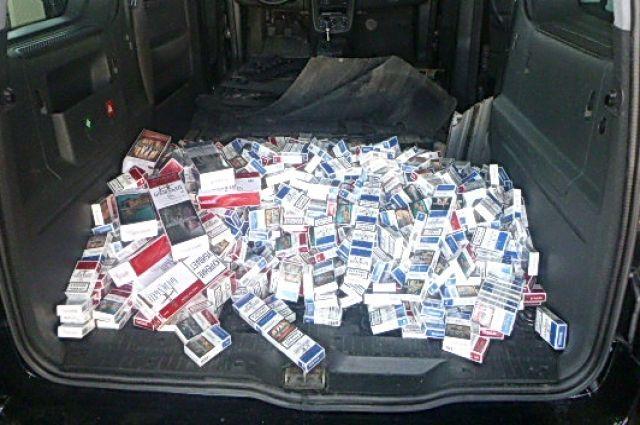 На границе с Литвой задержан калининградец с контрабандной партией сигарет.