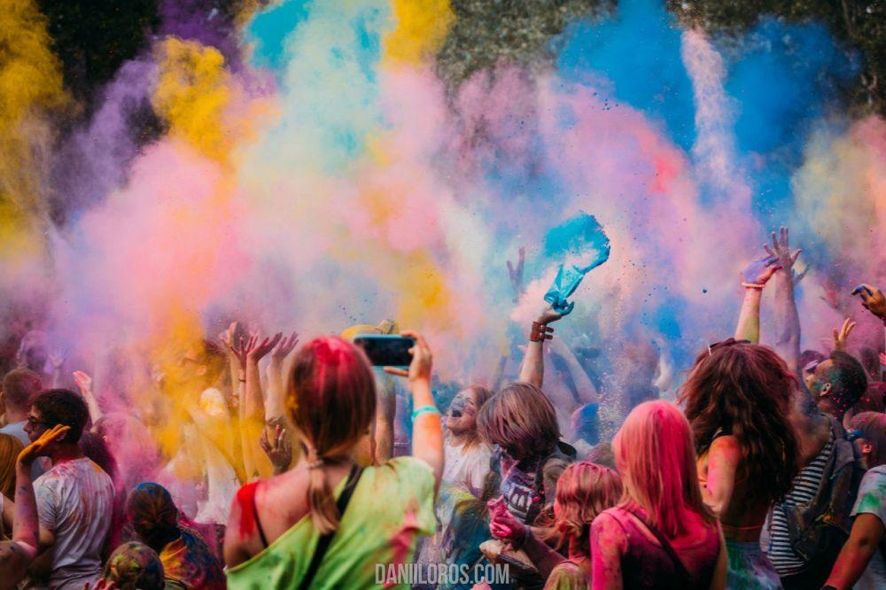 Молодежь со всего Киева присутствовала на этом незабываемом событии