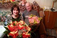 Супруги вместе больше полувека - и в этом счастье!