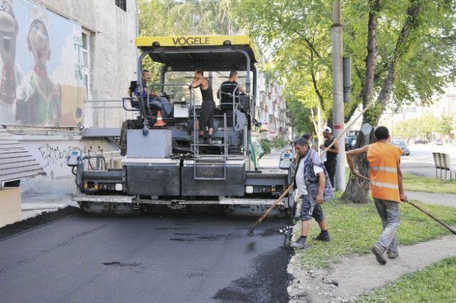 В прошлом году площадь капитально отремонтированных автомобильных дорог и искусственных дорожных сооружений в Перми достигла 207 тыс. кв. м.