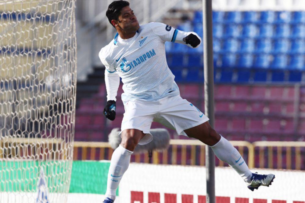 За два года игры в «Зените» Халк занял одно из первых мест по количеству забитых мячей и стал главным событием российского чемпионата.