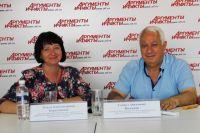 Ольга Куриленкова и Самвел Восканян