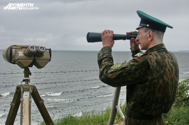 Разведчик ВВС США приблизился к базе ВМФ России в Калининградской области.