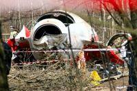 Фото с места авиакатастрофы 10 апреля 2010 года.