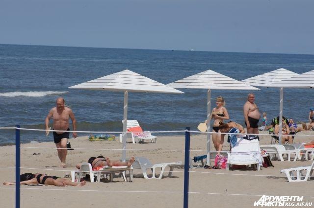 Пляж Янтарного первым в России получил награду