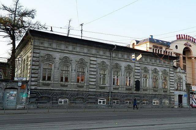 Дом Колбина должен стать частью музейного комплекса.