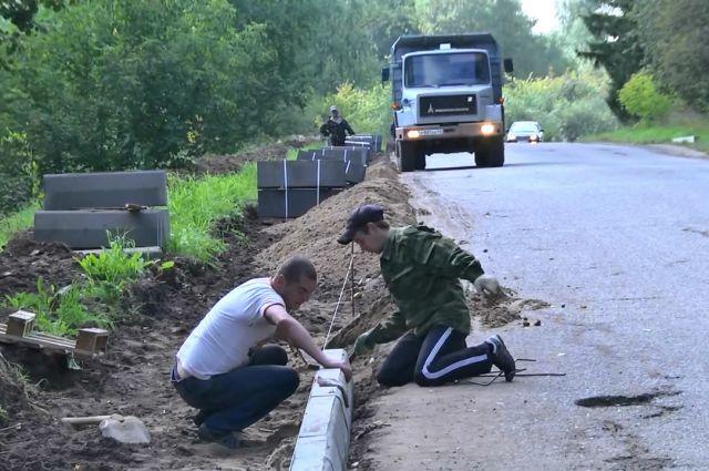 Благодаря ППМИ местные жители могут сами ремонтировать дороги.