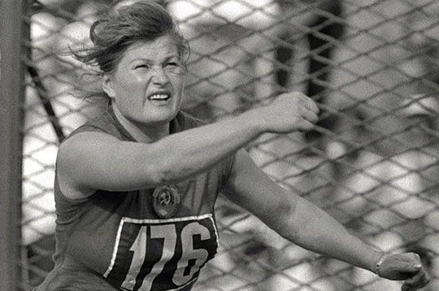 Нина Пономарева на Олимпиаде в Риме, 1960 год.
