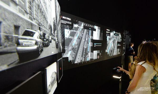 «Виртуальные модели» всех типов улиц с описанием каждого элемента и решений.