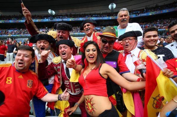 Самые эмоциональные испанские фанаты