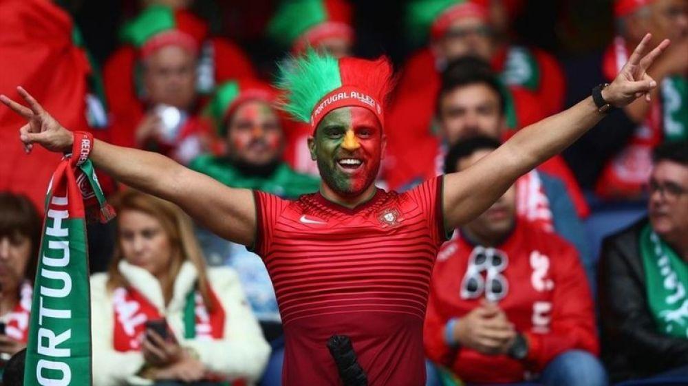 Болельщик сборной Португалии