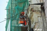 Собственник здания пообещал отремонтировать крышу, но пока ничего не предпринял.