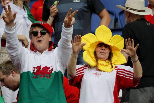 Фаны сборной Уэльса