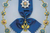 Орден святого Андрея Первозванного появился в 1698 году.