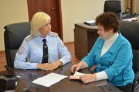 Евгения Борисова на приеме у Светланы Селиверстовой.
