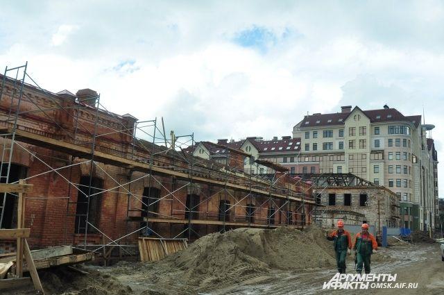 Реконструкцию крепости завершат только в 2017 году.
