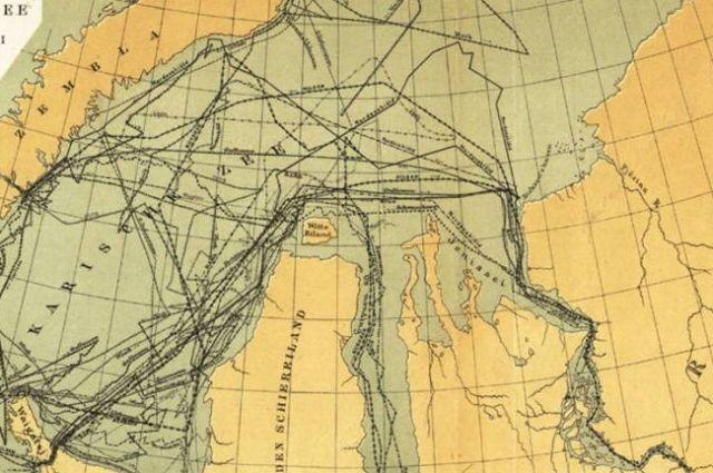 Два века назад Енисейская губерния была центром развития северного морского пути.